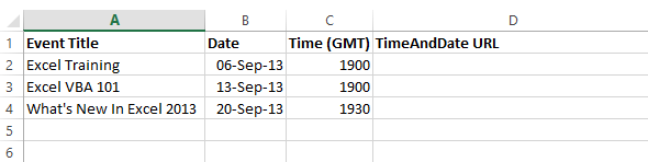 Automating Timezone Conversion