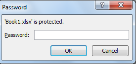 Protect an Excel File with a Password